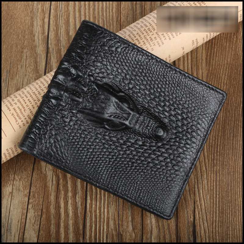 Top Quality Real Leather Mens Wallets Dollar Price Genuine Leather Wallet Men Alligator Slim Wallet Carteira Masculina<br><br>Aliexpress