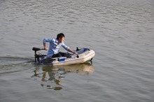 professional inflatables kayak fishing boat pvc boat for 2person(China (Mainland))