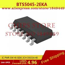 Integrated Circuit BTS5045-2EKA IC PWR SW HI-SIDE 2CH DSO14-40 5045 BTS5045 - Chips Store store