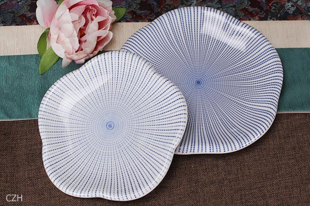 Фарфоровая тарелка ZhengHan 2/, ZH0827-J235
