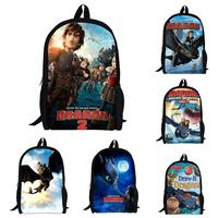 children school bags cartoon backpack male and female students backpack Train Your Dragon dragon2 Zipper mochila infantil