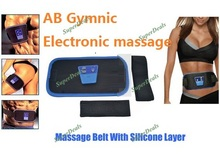 Wholesale AB GYMNIC Electronic Health Massage Body Building Weight Loss Belt Massage Free dropshipping