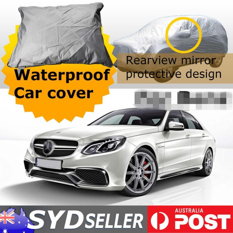 m 4 5x1 75x1 5m car cover weather waterproof protection. Black Bedroom Furniture Sets. Home Design Ideas
