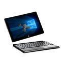 4GB 64GB 10 1 inch Windows 10 system laptop tablet 2 in 1 Quad core I