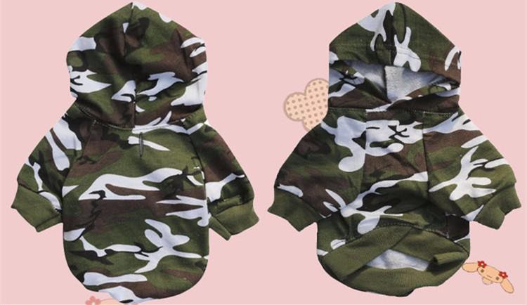 XS L для маленьких собак камуфляжные толстовки одежда модная весенне осенняя 1703935601_1477195593