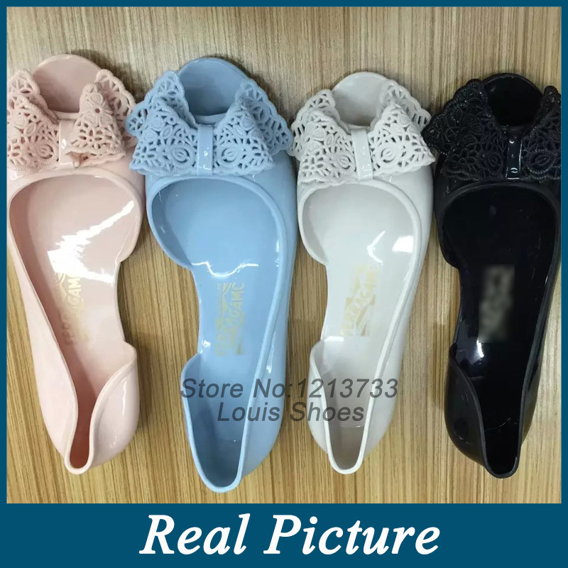 Big Size summer style 2015 women sandals Black slipper fashion Flats Top quality PVC injection jelly shoes free shipping(China (Mainland))