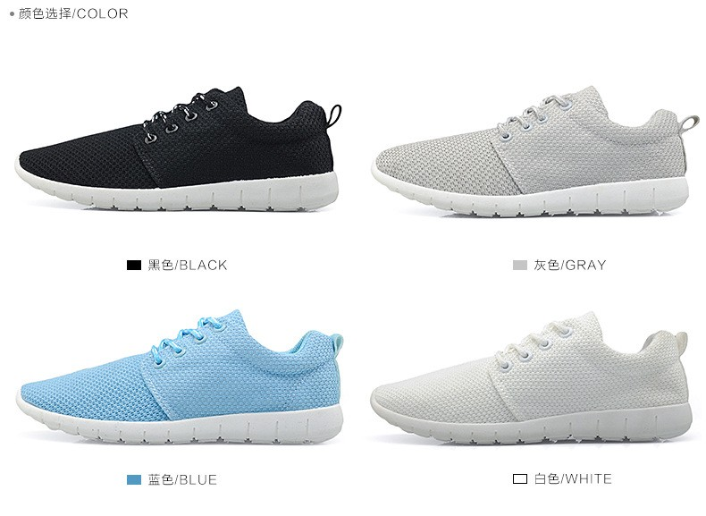 Women Breathable Mesh Shoes Size 35-40 Fashion Women Casual Shoes Zapatillas Deportivas Trainer Free Shipping Ladies Shoes YD85 (4)