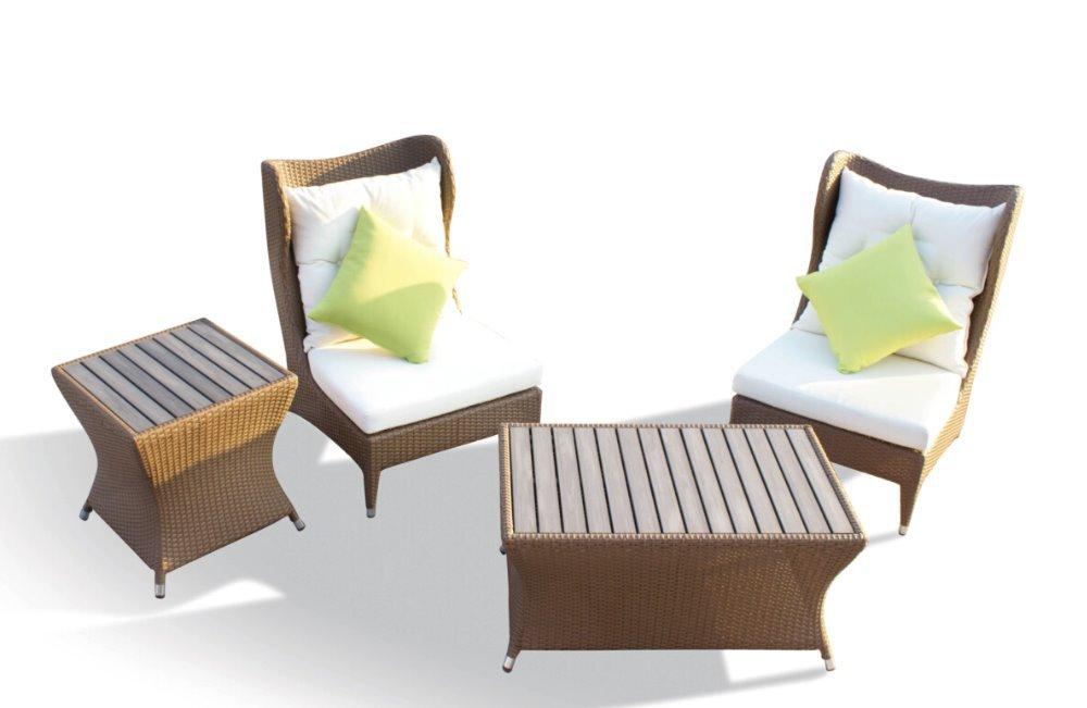 Naturaleza Rattan muebles de exterior sofá en Jardín Sofás de Muebles en AliE...