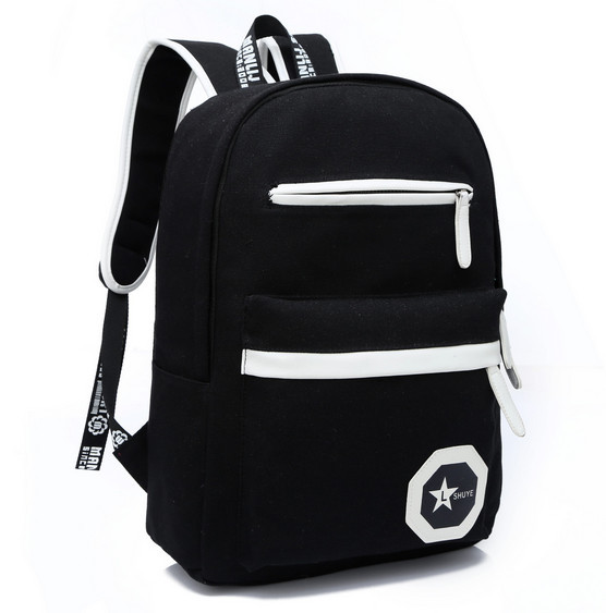 2014 New Women Backpack School Student Travel Shoulder Bags Teenagers Canvas Backpacks Bagpack 4 Colors - Fashiongo store