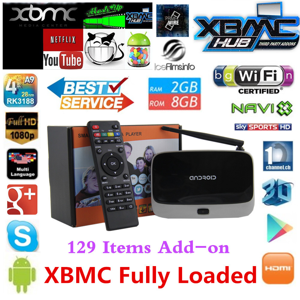 2GB/8GB CS918 XBMC fully loaded MK888 Q7 Android TV Box RK3188 Quad Core Mini PC Smart TV Media Player with Remote Controller(China (Mainland))