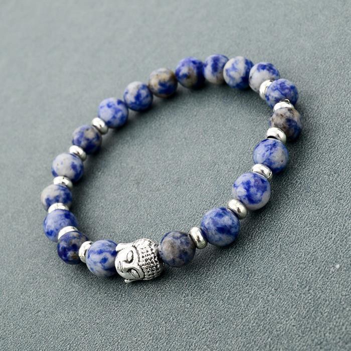 2015 натуральный камень будда браслет тигровый глаз бусины браслеты для женщин и мужчин ювелирные изделия SBR150171
