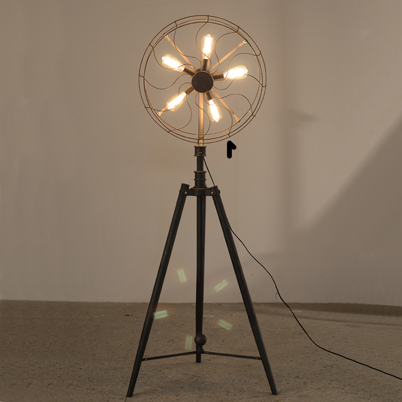 Floor Fans With Light : Vintage floor fan promotion shop for promotional