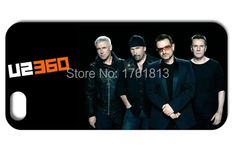 U2 BAND Hard Back phone cases for Iphone 4 4s 5 5s 5c 6 6plus Samsung galaxy A3 A5 A7 S3 S4 S5 Mini S6 Edeg Note 2 3 4(China (Mainland))