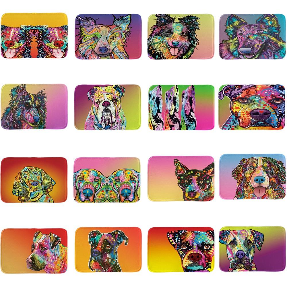 drle bienvenue paillasson beagle srie porte tapis art animaux intrieur en plein air salle de bains tapis de sol doux lgret - Tapie Salle De Bain Aliexpress