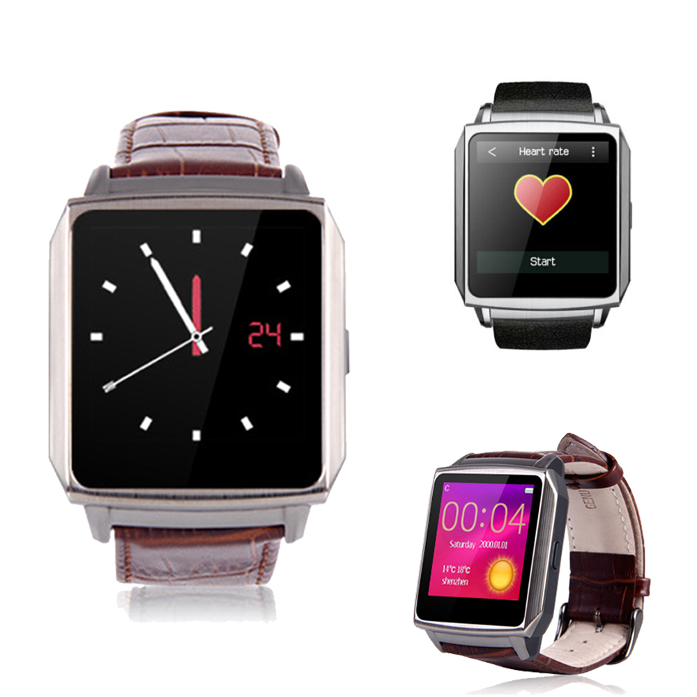 ZWEAR Waterproof Smart Watch Bluetooth Sync for Android Phone Pedometer Heart Rate Wrist Watch Support QQ,facebook,Twitter,Skype(China (Mainland))