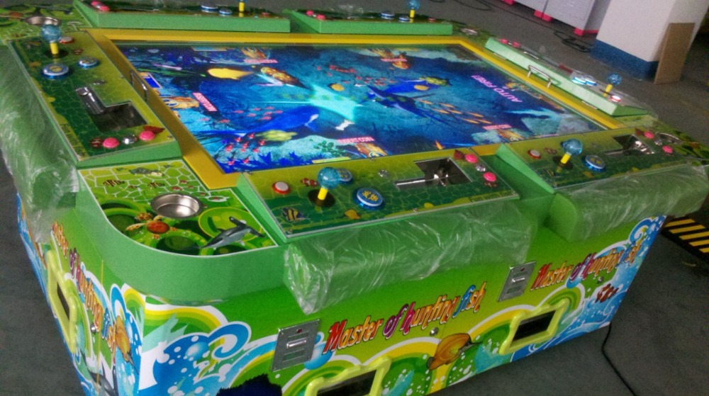 coin operated machine fish hunter arcade console 6