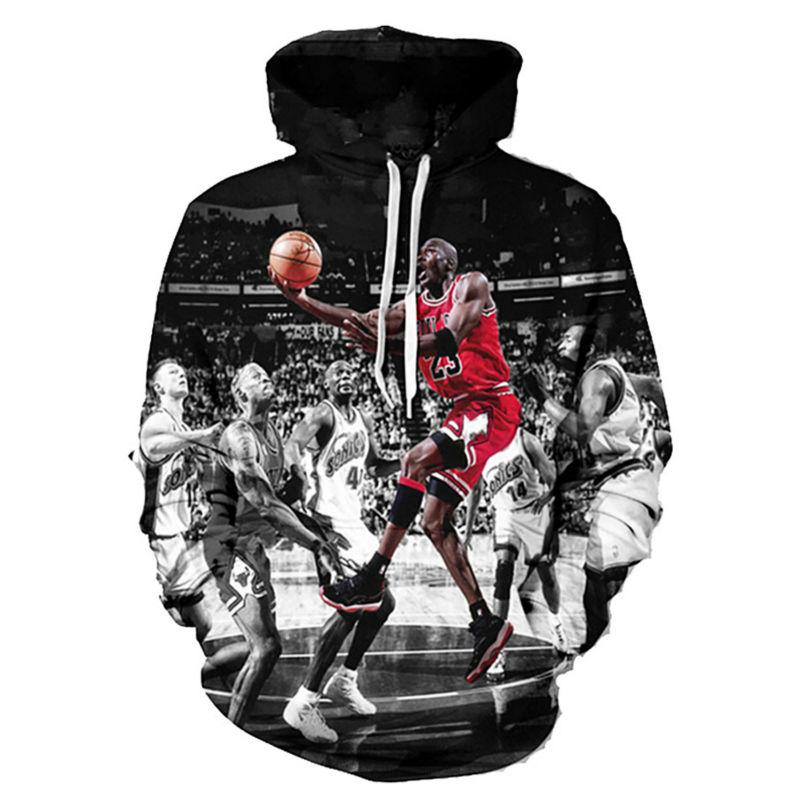 Detail Feedback Questions about Jordan Print 3D Men Hoodies And Sweatshirts  Fashion Men s Clothing Loose Hooded Sweats Tops Unisex Coats Autumn Winter  ... 48cfd0d48