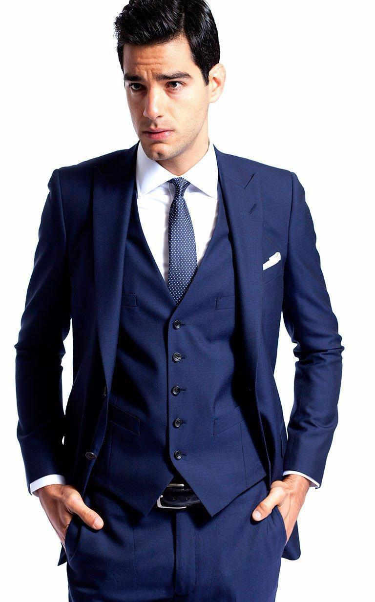 recommend royal blue groom tuxedos man business suits prom party suits groomsman costume homme. Black Bedroom Furniture Sets. Home Design Ideas