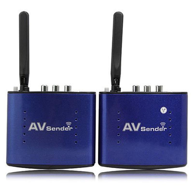 Гаджет  5.8GHZ 8 Channel 200m 20m Wireless Audio Video AV SD TV Sender Transmitter Receiver IR Remoter Extender None Бытовая электроника