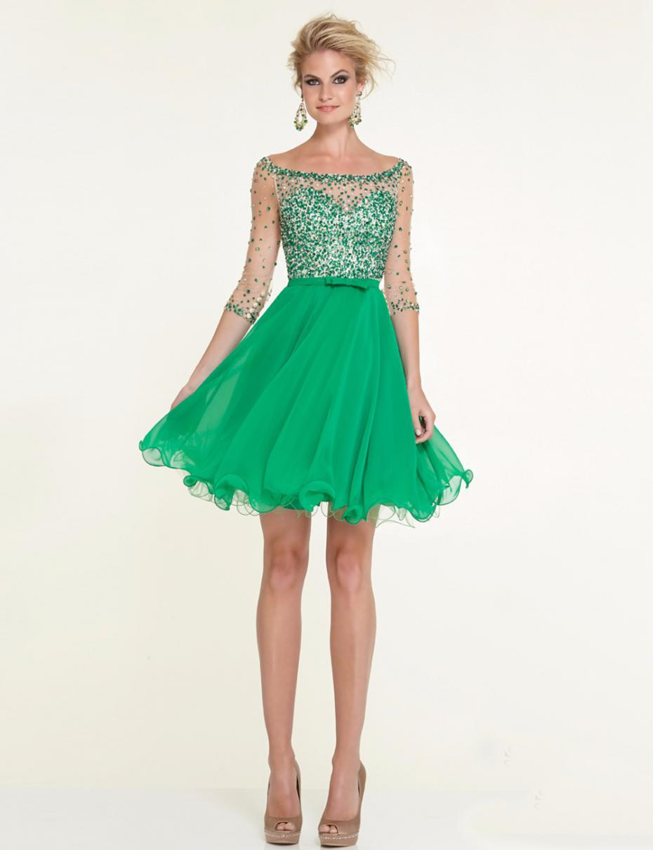 Emerald Cocktail Dresses 65