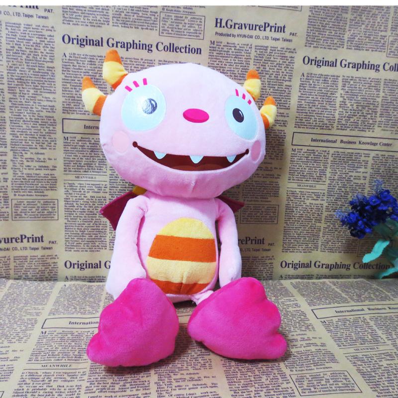 New Original Henry Hugglemonster Kids Plush Toys Kawaii Pink Summer Stuffed Dolls For Children Gifts 40CM(China (Mainland))