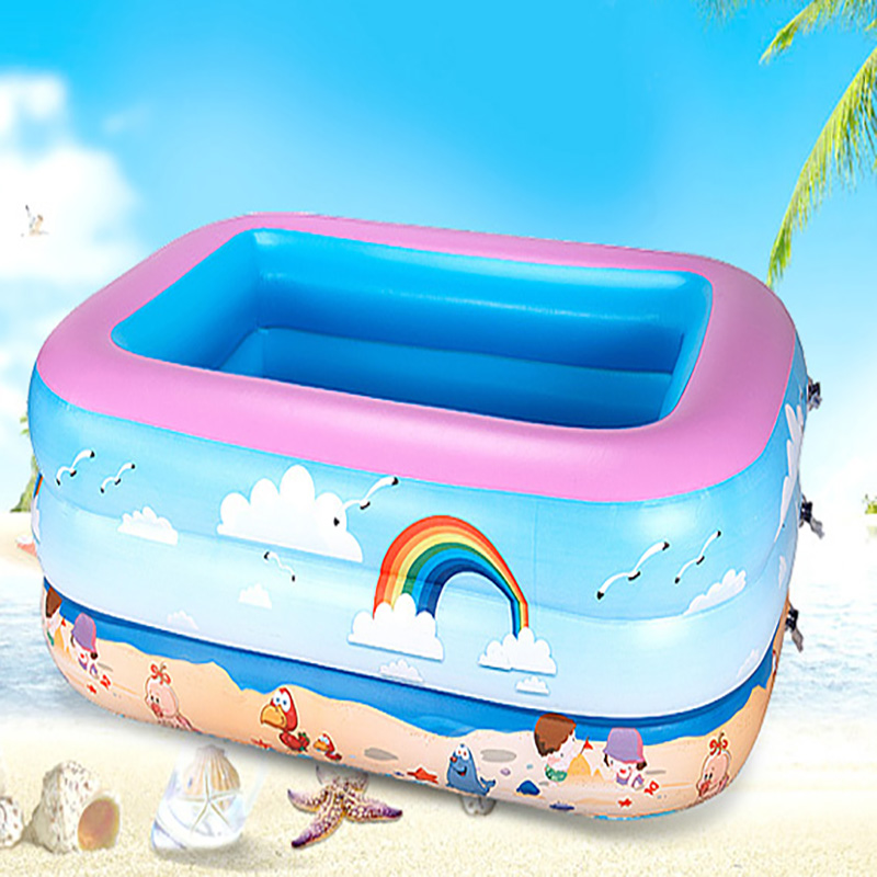 Free shipping children baby Swimming pool kids play sand ocean ball pool inflatable pool paddling pool(China (Mainland))