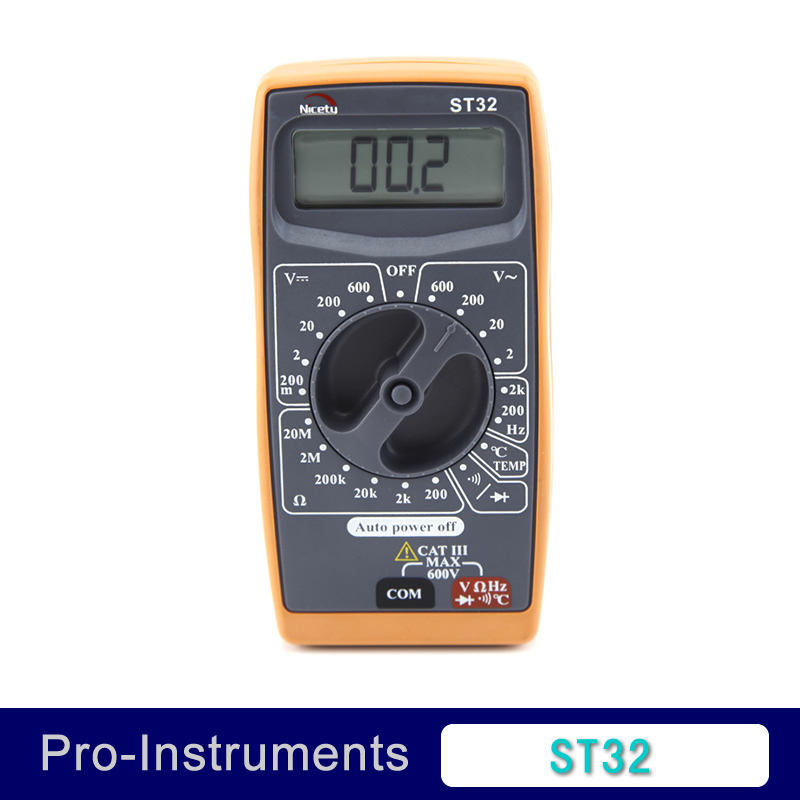 ST32 AC/DC DMM ce multimeter electrical test instruments(China (Mainland))