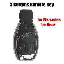 for Mercedes for Benz 3 Buttons Smart Remote Key Chip 315MHz NEC After Year 2000 car scanner diagnostic tool auto