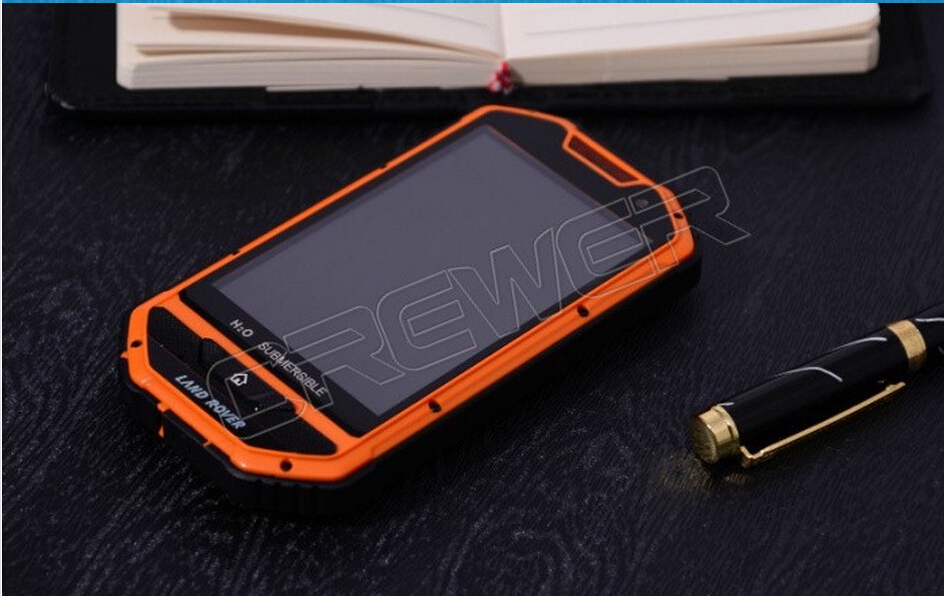 Land Nover A1 Waterproof Android Phone 4.0 MTK6515 3000mah WiFi 3MP Camera Russia bluetooth cellphone & mobile phone(China (Mainland))
