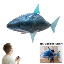 Remote Control Flying Fish RC Plastic Inflatable Blimp Animal Balloon Airplane(China (Mainland))