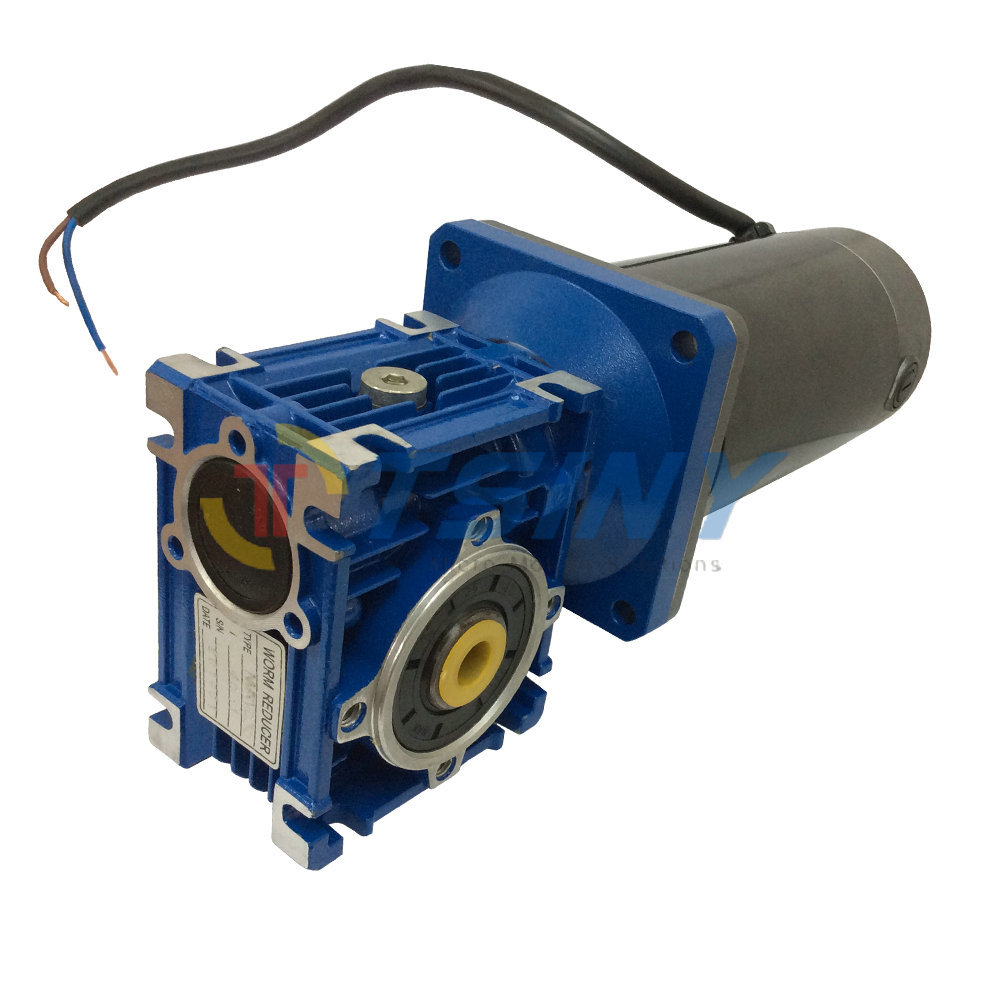 Buy 12vdc Worm Boxing Geared Motor 100w