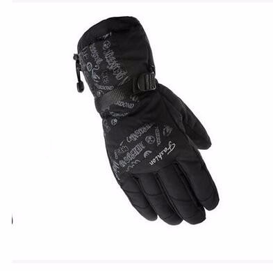 8GLV897 wholesale outdoor wind proof warm winter gloves climb mountain motorcycle thickening ski gloves
