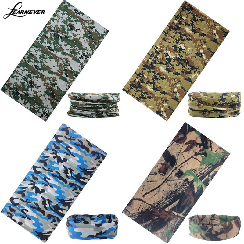 Face Mask Warmer Bandana Headwear Snood Handkerchief Multi-Function Camo Tube Scarf Headband D01843(China (Mainland))