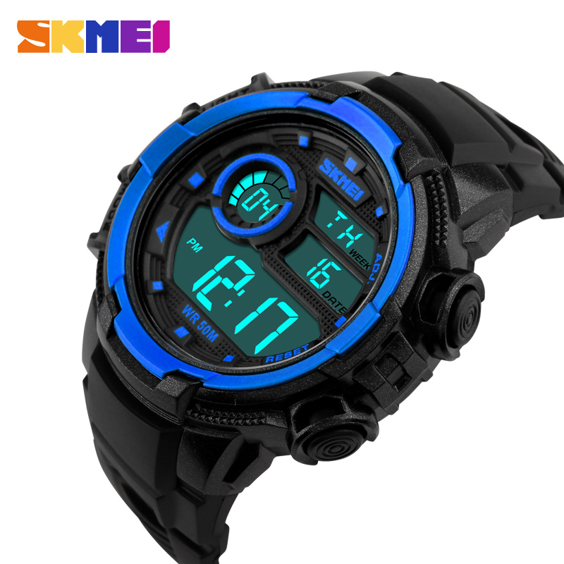 2016 new Casual watch men military Watches sport Wristwatch LED Digital Watch Multifunctional Wristwatches 50M Waterproof Clock(China (Mainland))