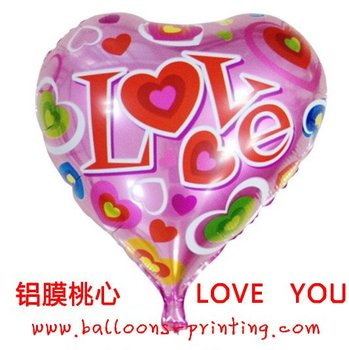 New Arrived! 18inch Wedding Heart Shape Helium Balloon(100pieces/lot) Decoration Balloons