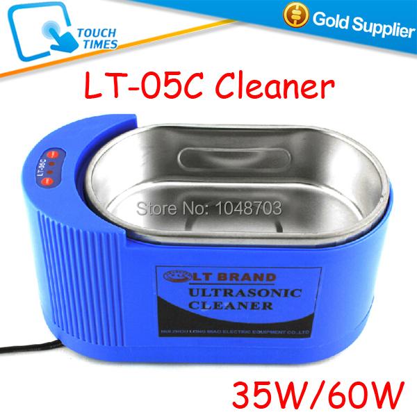 Free Shipping LT-05C 220V Dual 35W/60W Ultrasonic Cleaner Mini Cleaning Machine(China (Mainland))