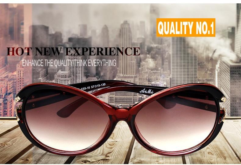 2015 Good Quality  Women Sunglasses UV Protection New Style Ladies Sun Glasses Girls Glasses Brand Designer Gafas De Sol 3204