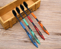 Cheapest  4PCS Bamboo Charcoal Nano Toothbrush Double Ultra Soft Toothbrush for Oral Care BO