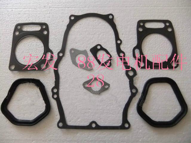 Full gasket set fits Honda GX620 engine/motor free shipping cheap generator SHT15000 gasket set replacement parts(China (Mainland))