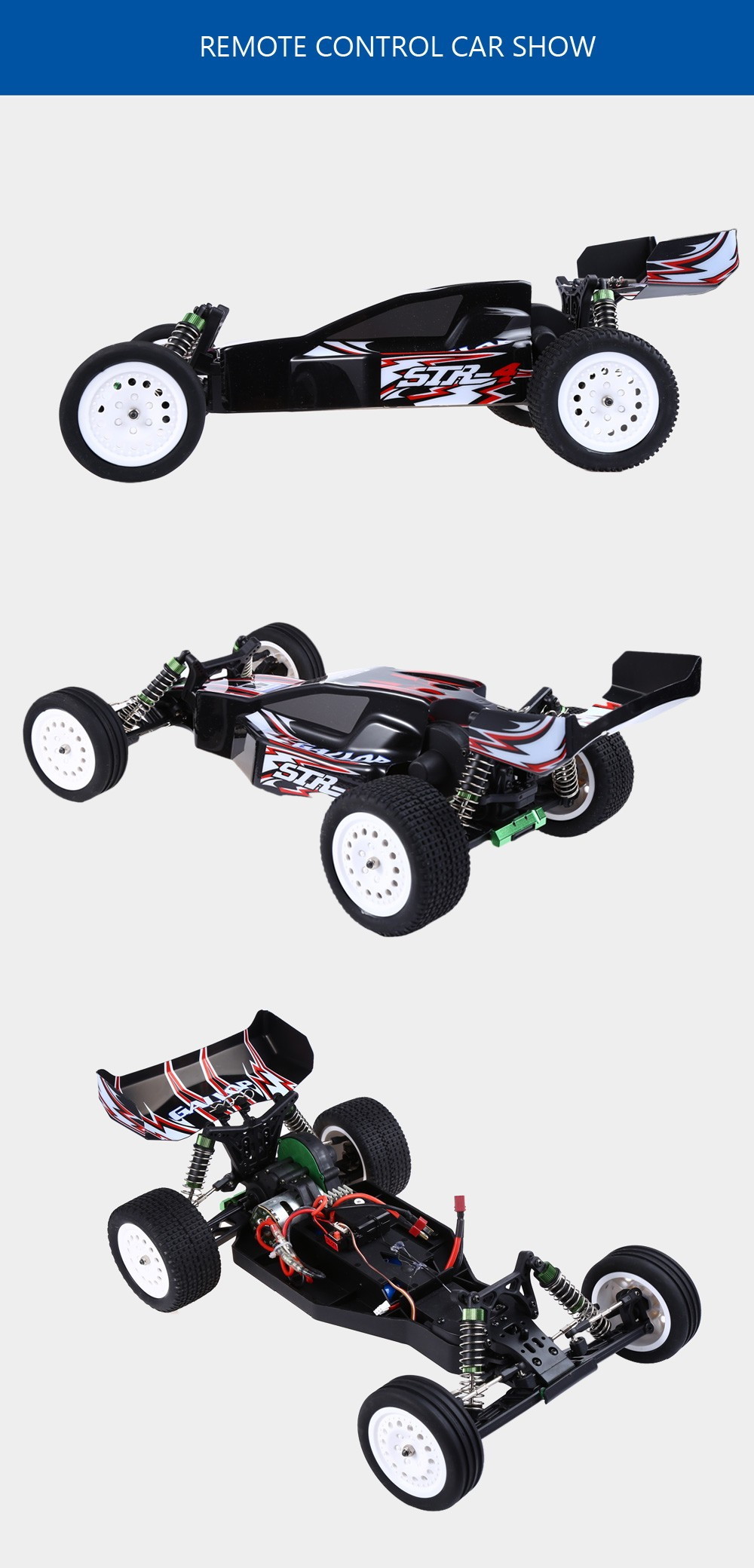 WLtoys L303 RC Car For Drift 2.4GHZ 1:10 50KM/H Electric RTR RC Cross Country Racing Car Vehicle RC Toy Gift For Kids Friends