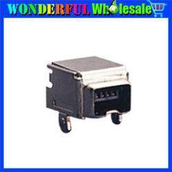 Free shipping USB Plug Socket Connector,1394-4S-03