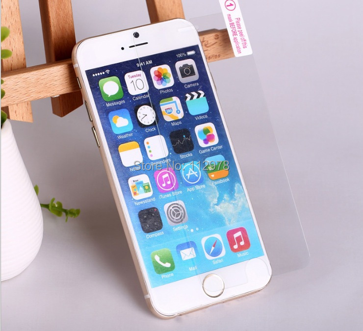 Retail Package 100iPhone 5 5S 6 6S 4.7 inch Screen Protector Film Guard Tempered Glass - Our Shop store