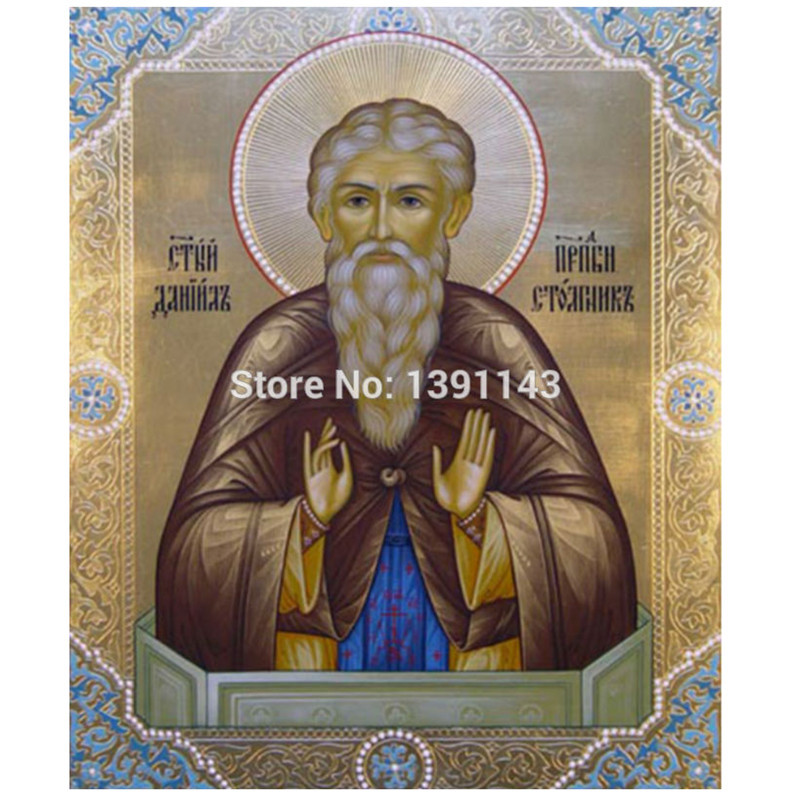 Promotion Elder 30x36cm Needlework Diy Diamond Painting cross stitch Pasted 3d For Square Drill Full Wall Decoration Religious(China (Mainland))