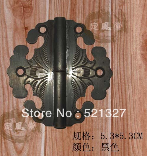 Antique furniture hinge copper rocking leather hinge CH-013 5.3CM black(China (Mainland))
