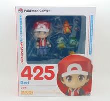 Pokemon Action Figure Toy Nendoroid Ash Ketchum Zenigame Charmander Bulbasaur Action Figure Pokemon Red Anime Collectible Model(China (Mainland))