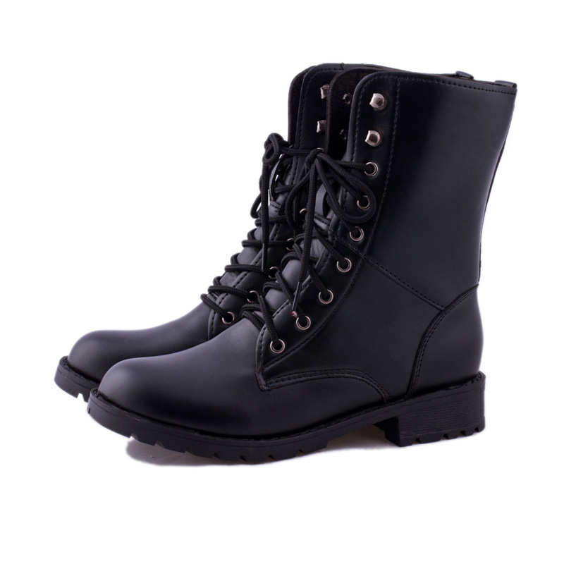low heel lace up boots | Gommap Blog