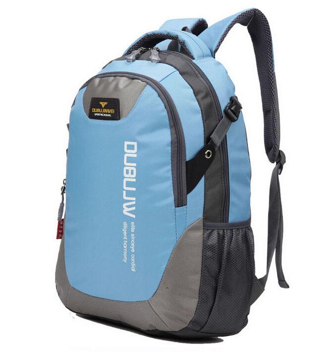 Men Outdoor Hiking Backpack Unisex Resin Mesh Softback Sport Double-Shoulder Travel Backpack Bicycle School Knapsack Hot Sale(China (Mainland))