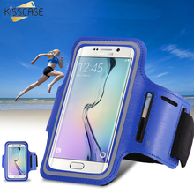 Buy KISSCASE S5 S6 Arm Band Case Holder Pouch Belt Deportivo Sport Running Accessories Samsung Galaxy S3 S4 S5 S6 S6 Edge S7 for $3.42 in AliExpress store