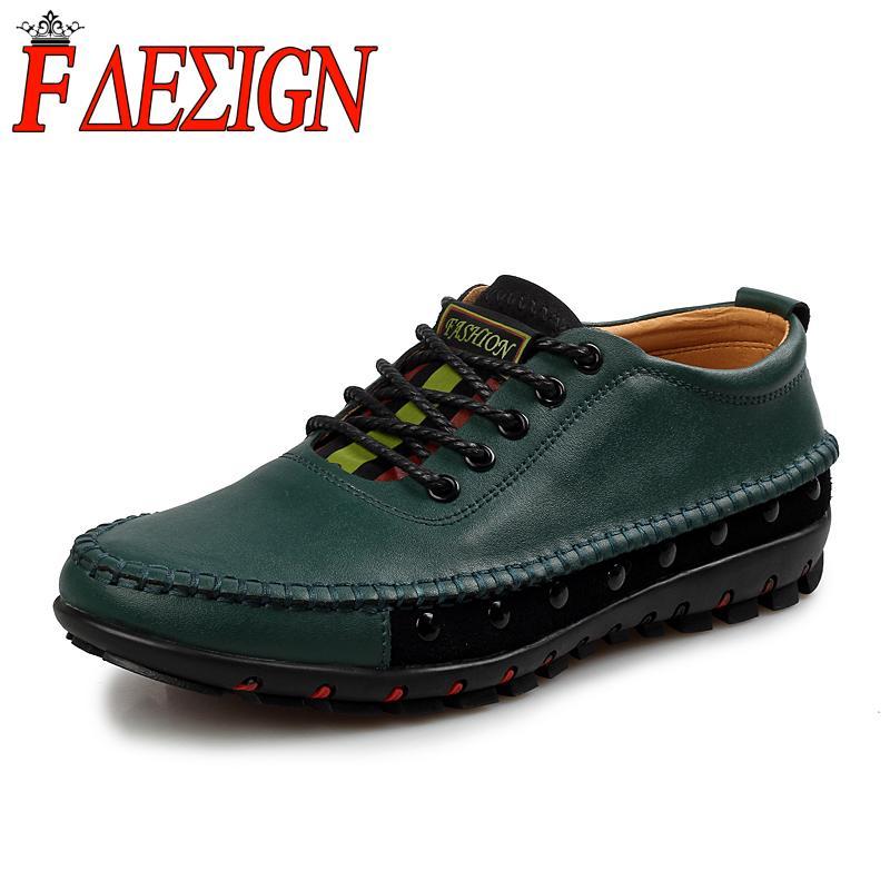 High Quality Cow Split Leather Men Oxford Shoes Men Fashion Style Business Oxfords Men Outdoor