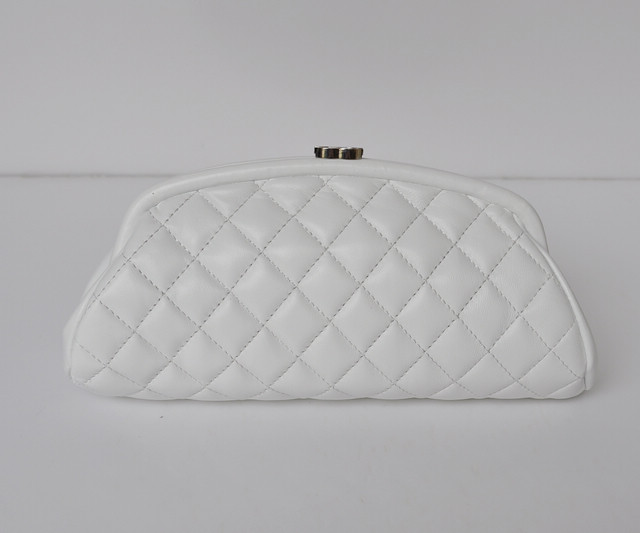 new arrive Ms sheepskin cosmetic bag Evening bag freeing shipping three color<br><br>Aliexpress